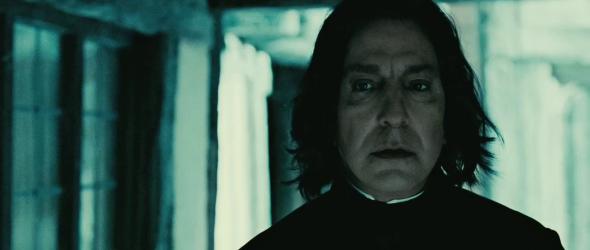 Alan Rickman A.K.S Snape